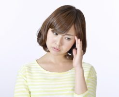 メランコリー型のうつ病で悩んでいる女性