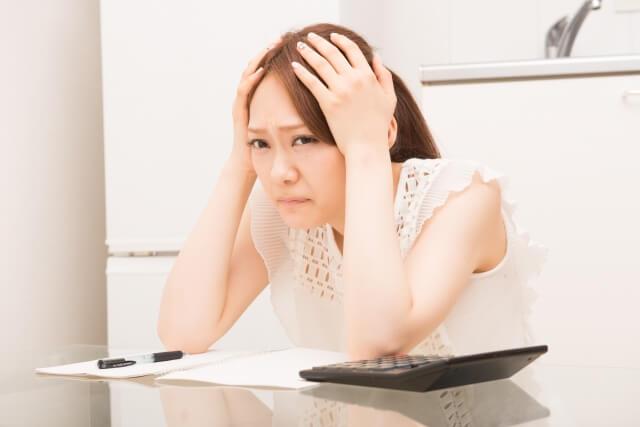 不安神経症に陥っている女性
