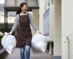 整理整頓が苦手で荷物をためこんでしまう、物を捨てられない女性